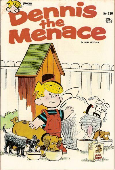 Cover for Dennis the Menace (Hallden; Fawcett, 1959 series) #130