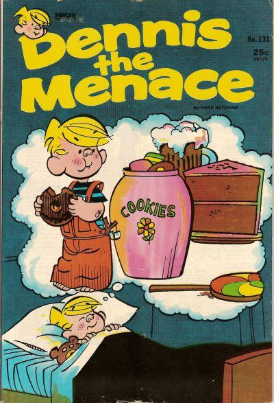 Cover for Dennis the Menace (Hallden; Fawcett, 1959 series) #131