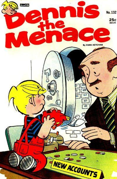 Cover for Dennis the Menace (Hallden; Fawcett, 1959 series) #132