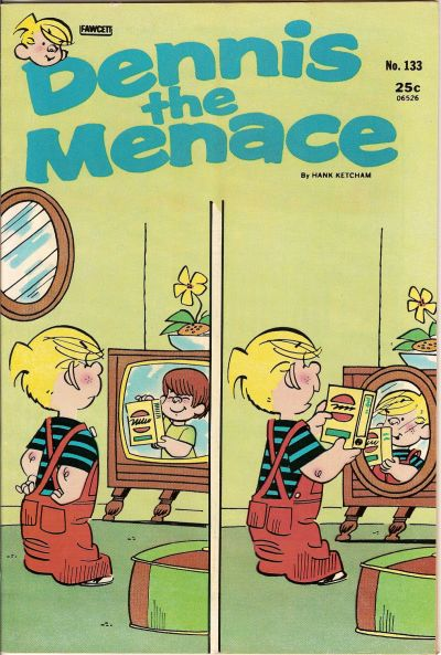 Cover for Dennis the Menace (Hallden; Fawcett, 1959 series) #133