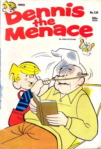 Cover for Dennis the Menace (Hallden; Fawcett, 1959 series) #134