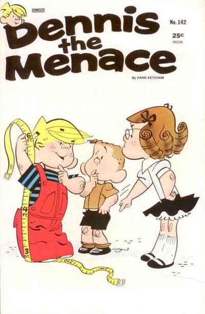 Cover for Dennis the Menace (Hallden; Fawcett, 1959 series) #142