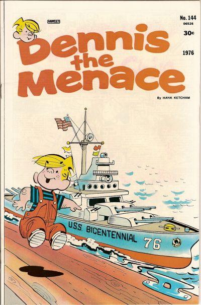 Cover for Dennis the Menace (Hallden; Fawcett, 1959 series) #144