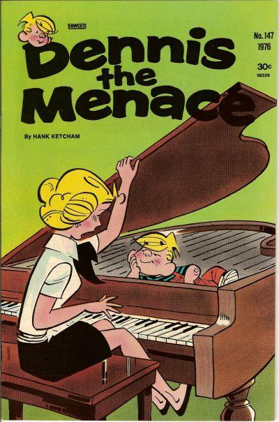 Cover for Dennis the Menace (Hallden; Fawcett, 1959 series) #147