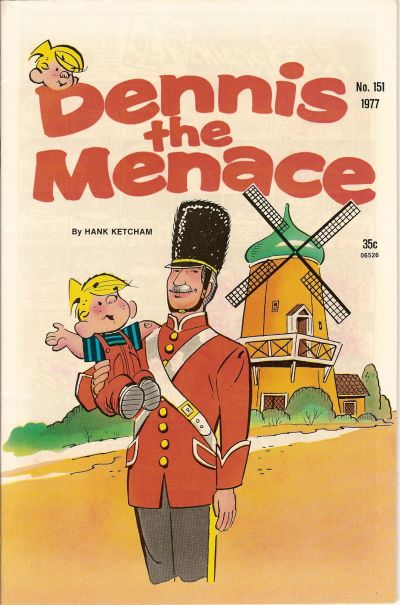 Cover for Dennis the Menace (Hallden; Fawcett, 1959 series) #151