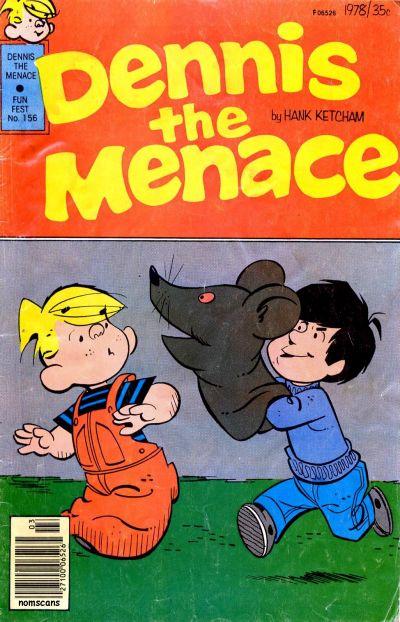 Cover for Dennis the Menace (Hallden; Fawcett, 1959 series) #156