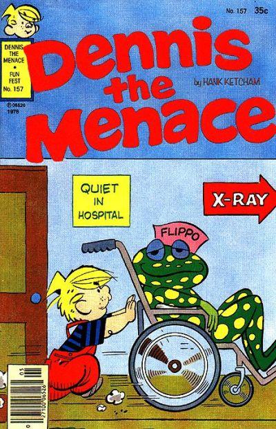 Cover for Dennis the Menace (Hallden; Fawcett, 1959 series) #157