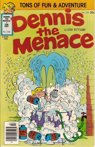 Cover for Dennis the Menace (Hallden; Fawcett, 1959 series) #158