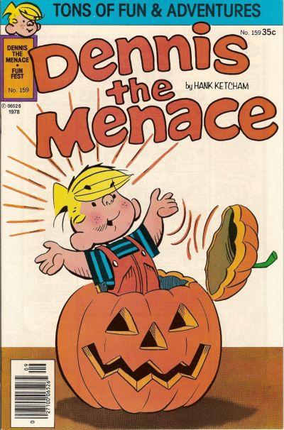 Cover for Dennis the Menace (Hallden; Fawcett, 1959 series) #159
