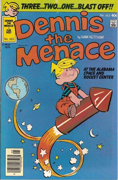 Cover for Dennis the Menace (Hallden; Fawcett, 1959 series) #163