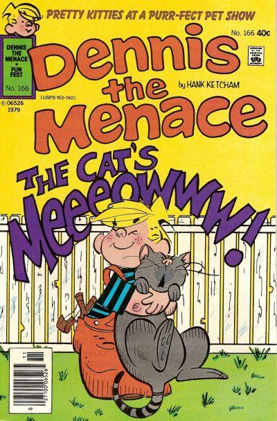 Cover for Dennis the Menace (Hallden; Fawcett, 1959 series) #166