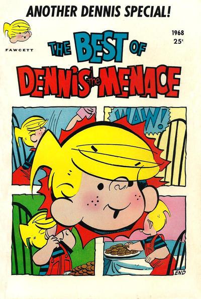 Cover for Dennis the Menace Giant (Hallden; Fawcett, 1958 series) #58 - The Best of Dennis the Menace