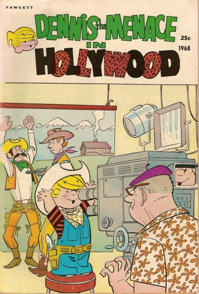 Cover for Dennis the Menace Giant (Hallden; Fawcett, 1958 series) #60 - Dennis the Menace in Hollywood