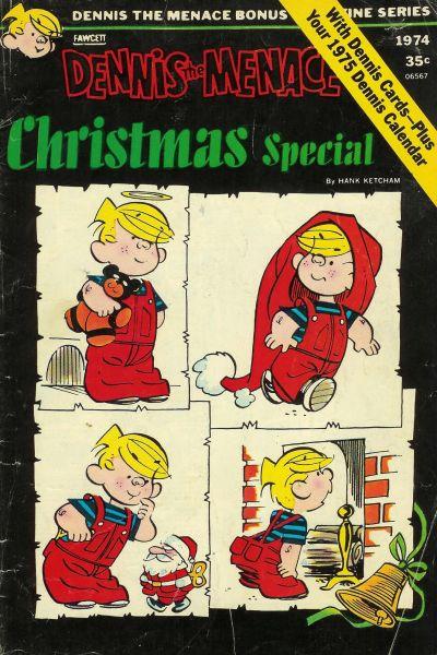 Cover for Dennis the Menace Bonus Magazine Series (Hallden; Fawcett, 1970 series) #134