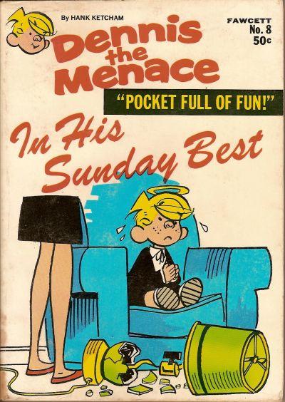 Cover for Dennis the Menace Pocket Full of Fun (Hallden; Fawcett, 1969 series) #8
