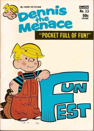 Cover for Dennis the Menace Pocket Full of Fun (Hallden; Fawcett, 1969 series) #13