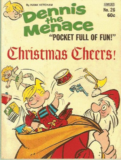 Cover for Dennis the Menace Pocket Full of Fun (Hallden; Fawcett, 1969 series) #26