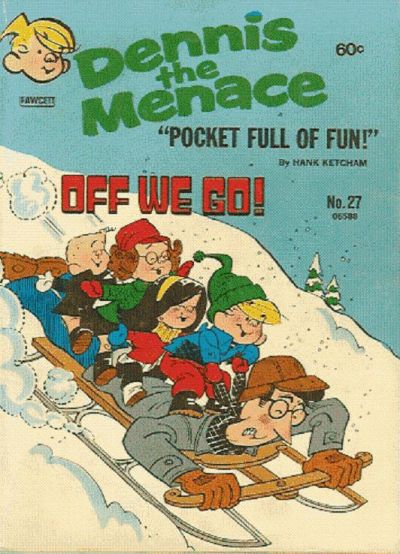 Cover for Dennis the Menace Pocket Full of Fun (Hallden; Fawcett, 1969 series) #27