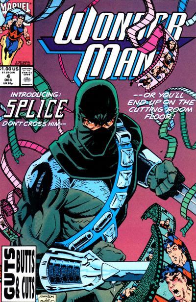 Cover for Wonder Man (Marvel, 1991 series) #4 [Newsstand]