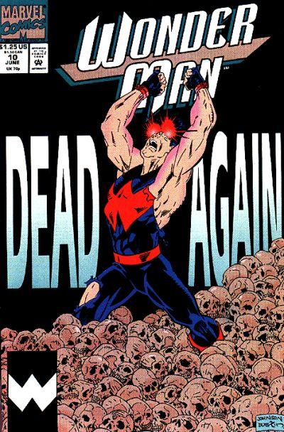 Cover for Wonder Man (Marvel, 1991 series) #10 [Direct]
