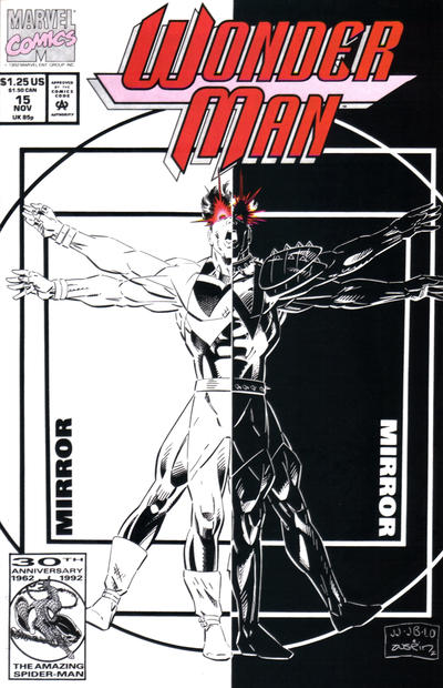 Cover for Wonder Man (Marvel, 1991 series) #15