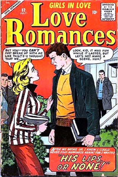 Cover for Love Romances (Marvel, 1949 series) #82