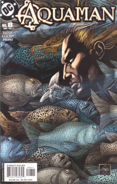 Cover for Aquaman (DC, 2003 series) #8