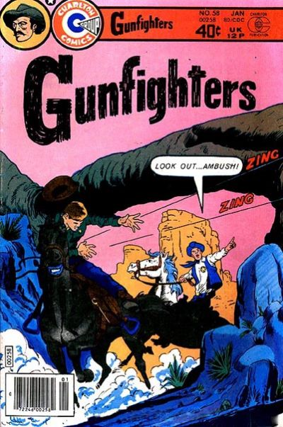Cover for Gunfighters (Charlton, 1966 series) #58