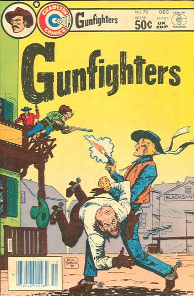 Cover for Gunfighters (Charlton, 1979 series) #70