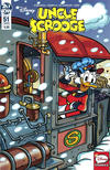 Cover for Uncle Scrooge (IDW, 2015 series) #51 / 455 [Cover A - Marco Mazzarello]
