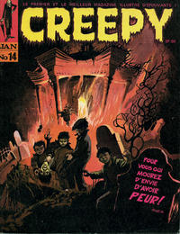Cover Thumbnail for Creepy (Publicness, 1969 series) #14