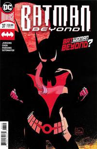 Cover Thumbnail for Batman Beyond (DC, 2016 series) #37 [Second Printing]