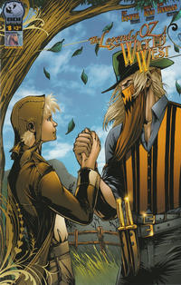 Cover for Legend of Oz: The Wicked West (Big Dog Ink, 2012 series) #8 [Cover A - Carlos Reno]