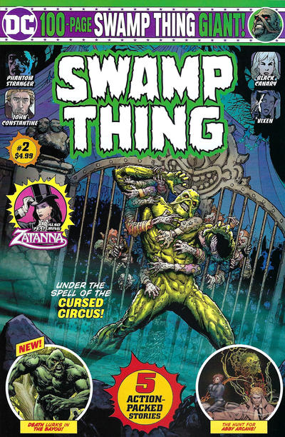 Cover for Swamp Thing Giant (DC, 2019 series) #2 [Mass Market Edition]