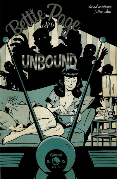 Cover for Bettie Page Unbound (Dynamite Entertainment, 2019 series) #6 [Cover D Pasquale Qualano]