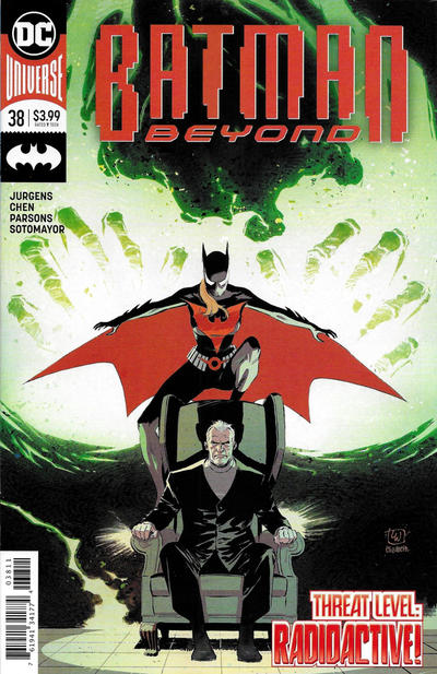 Cover for Batman Beyond (DC, 2016 series) #38 [Francis Manapul Cover]