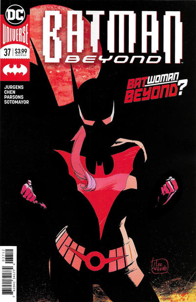 Cover for Batman Beyond (DC, 2016 series) #37