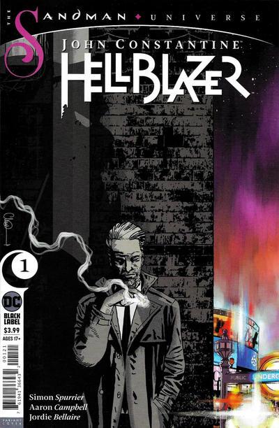 Cover for John Constantine Hellblazer (DC, 2020 series) #1 [Blank Cover]