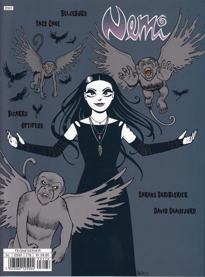 Cover for Nemi (Gyldendal Norsk Forlag, 2018 series) #176