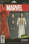 Cover for Uncanny X-Men (Marvel, 2019 series) #10 (629) [John Tyler Christopher Action Figure (X-Man)]