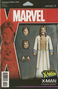 Cover Thumbnail for Uncanny X-Men (Marvel, 2019 series) #10 (629) [John Tyler Christopher Action Figure]