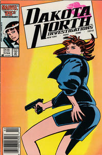 Cover Thumbnail for Dakota North (Marvel, 1986 series) #5 [Newsstand]
