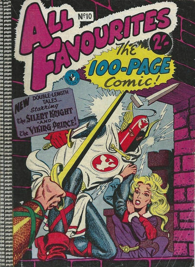 Cover for All Favourites, The 100-Page Comic (K. G. Murray, 1957 ? series) #10