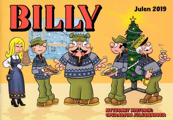 Cover for Billy julehefte (Hjemmet / Egmont, 1970 series) #2019