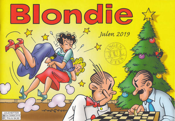 Cover for Blondie (Hjemmet / Egmont, 1941 series) #2019