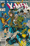 Cover for X-Men (Marvel, 1991 series) #16 [Newsstand]