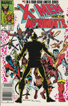 Cover Thumbnail for The X-Men and the Micronauts (1984 series) #1 [Newsstand]
