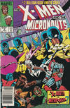 Cover Thumbnail for The X-Men and the Micronauts (1984 series) #2 [Newsstand]