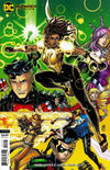 Cover Thumbnail for Young Justice (2019 series) #11 [Nick Bradshaw Cardstock Variant Cover]