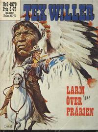 Cover Thumbnail for Tex Willer (Semic, 1977 series) #5/1979 - Larm över prärien